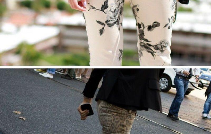 Printed Pants And Leggings for Women 2018 (4)