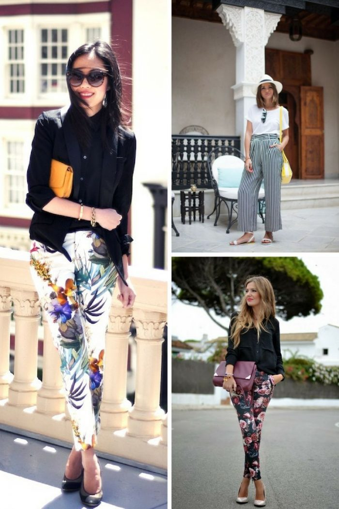 Printed Pants To Try This Summer 2019