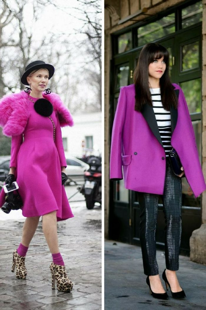 Radiant Orchid Color Trend For Women 2018 (4)