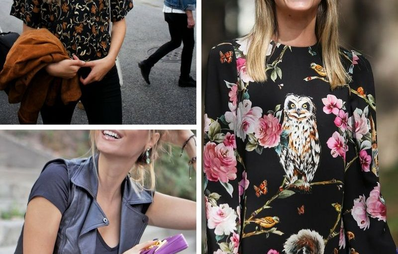 Retro Floral Print For Women 2018 (5)