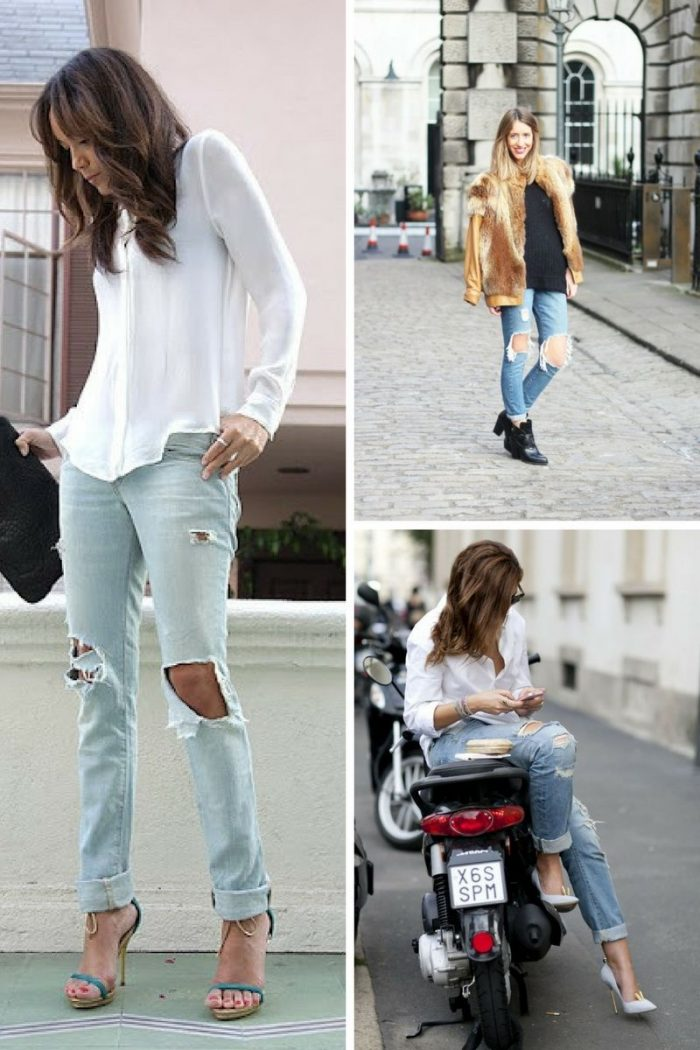 Denim Trends Ripped Jeans For Women 2020 Stylefavourite Com