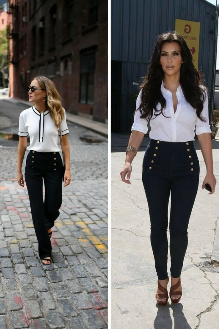Sailor Pants For Women Street Style 2020