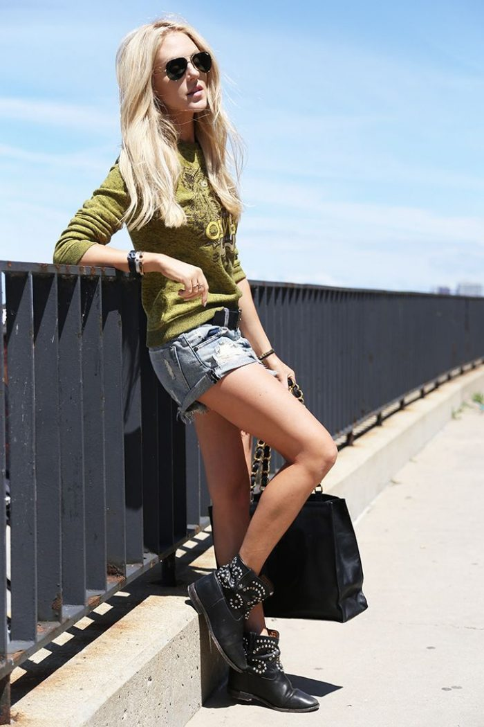 Shorts With Boots For Women 2018 (26)