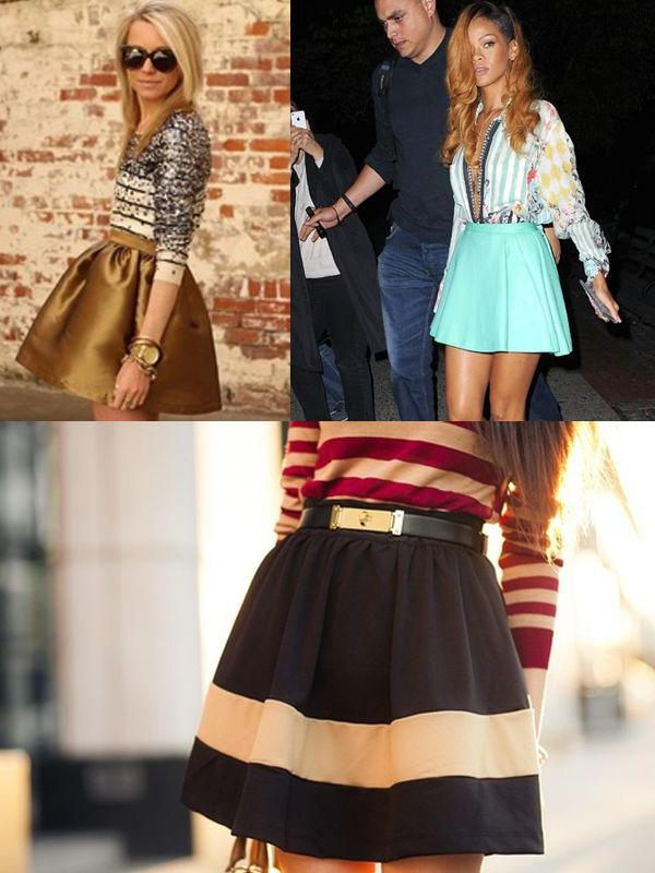 Skater Skirts For Summer 2018 (13)