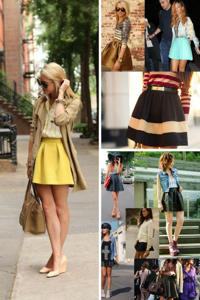 Skater Skirts For Summer 2018 (2)
