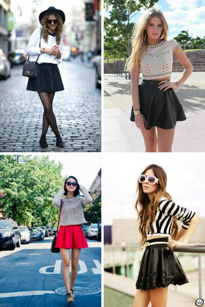 Skater Skirts For Summer 2018 (8)