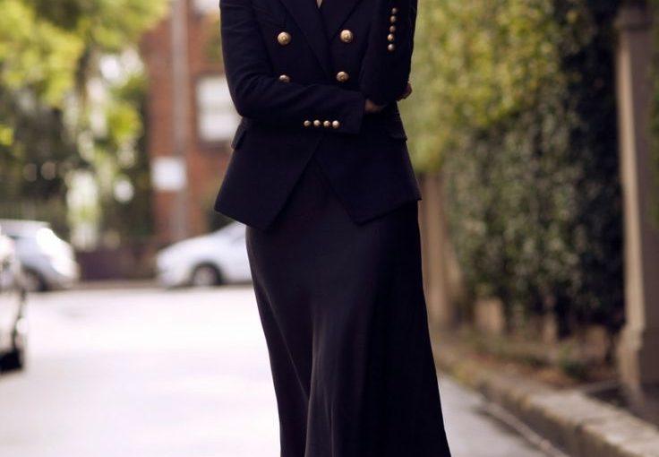 Slip Dresses 2018 Best Street Style Looks (2)