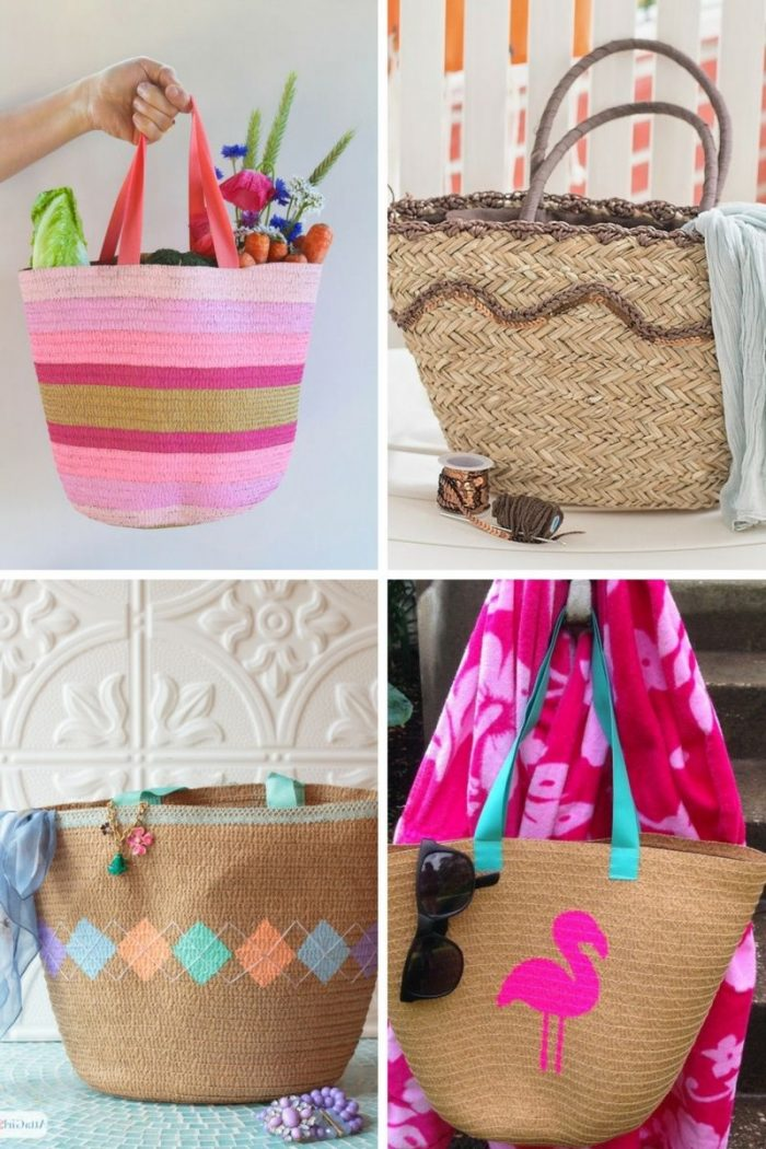 Summer Embroidered Straw Bags 2020