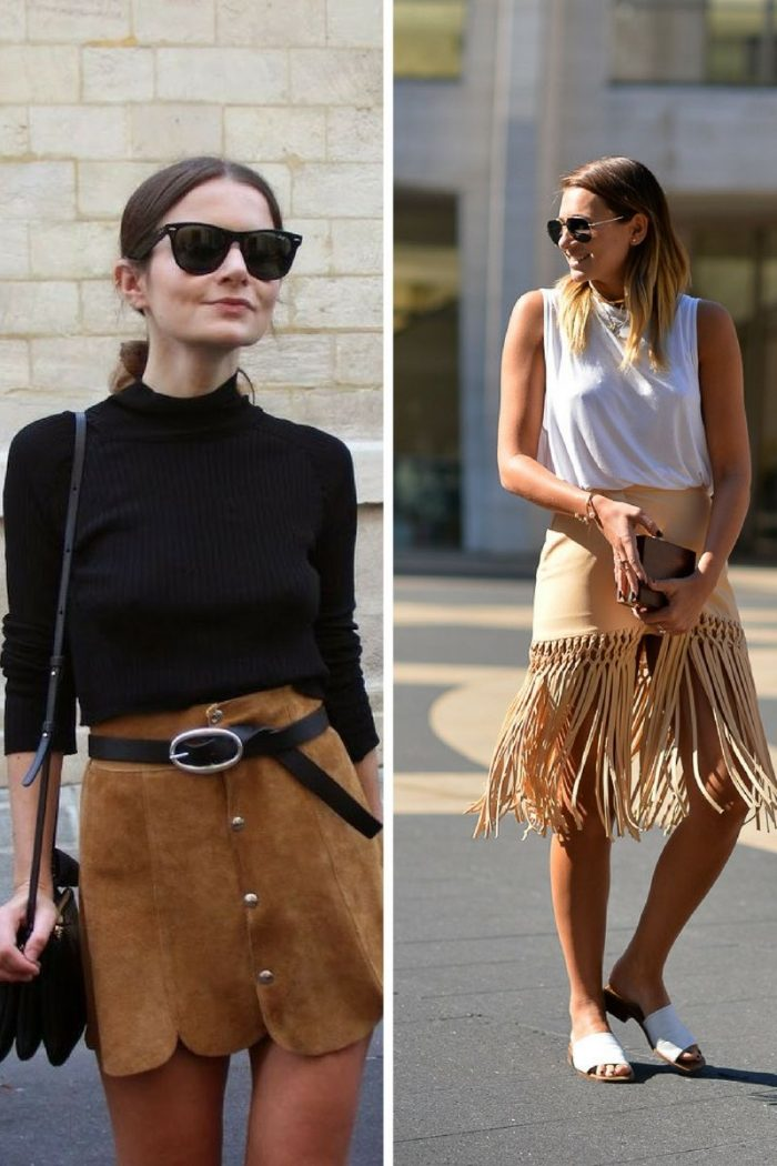 Suede Clothes And Accessories For Women 2019