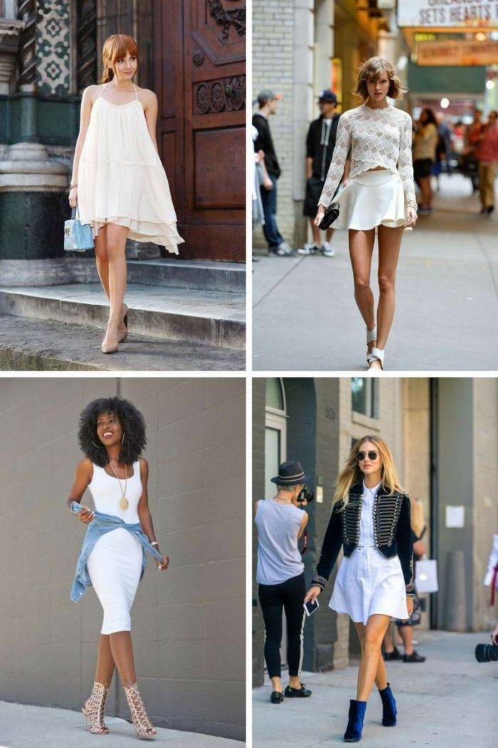 Summer White Attire For Women 2019