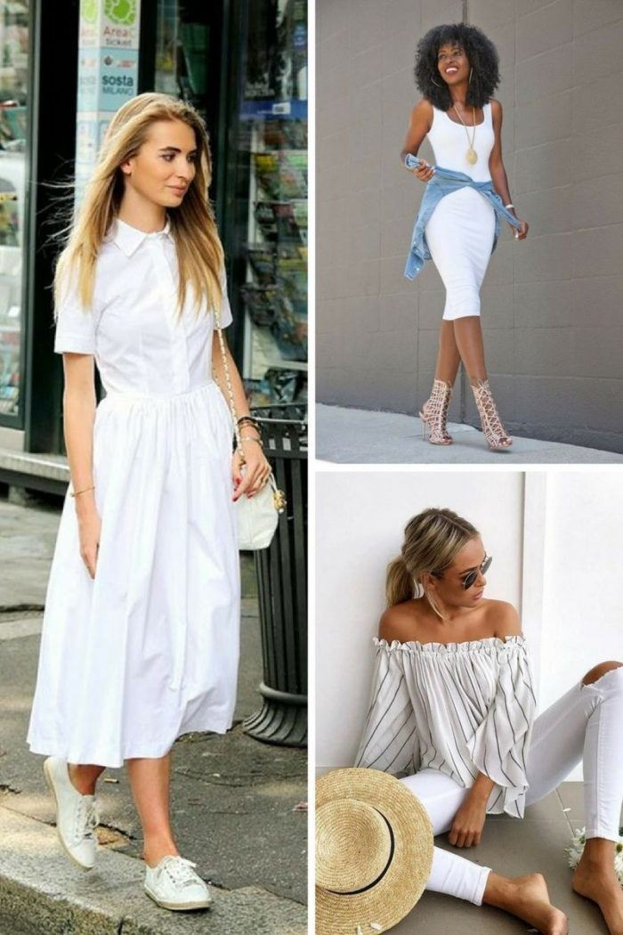 Summer 2018 White Clothes For Women (6)
