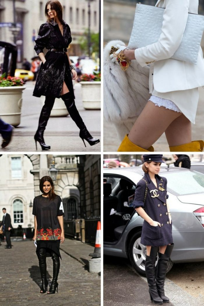What Thigh-High Boots Are In Trend 2019