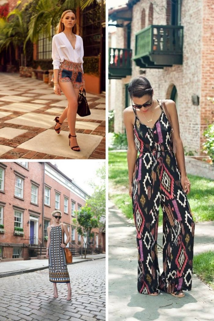 Tribal Print Fashion Trend For Summer 2018 (6)