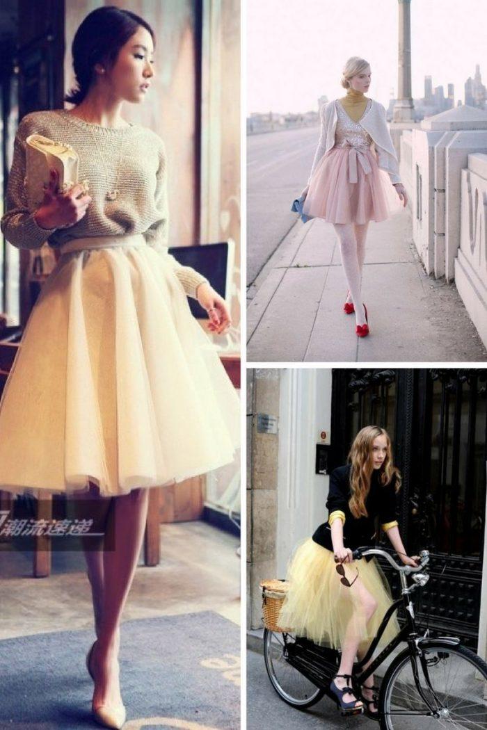 Tulle Skirt For A Flirty Look 2020