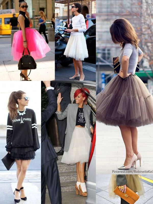 Tulle Skirt For A Flirty Look 2020 Stylefavourite Com