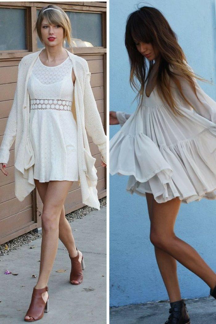 White Dresses For Summer 2018 (13)