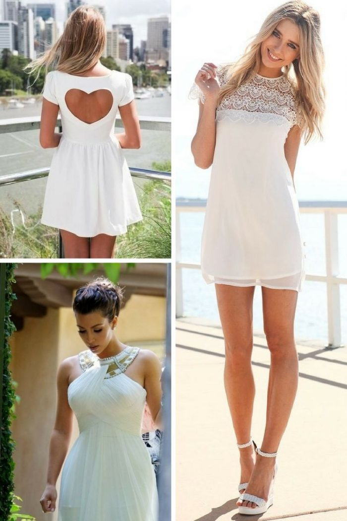 White Dress For Summer 2019