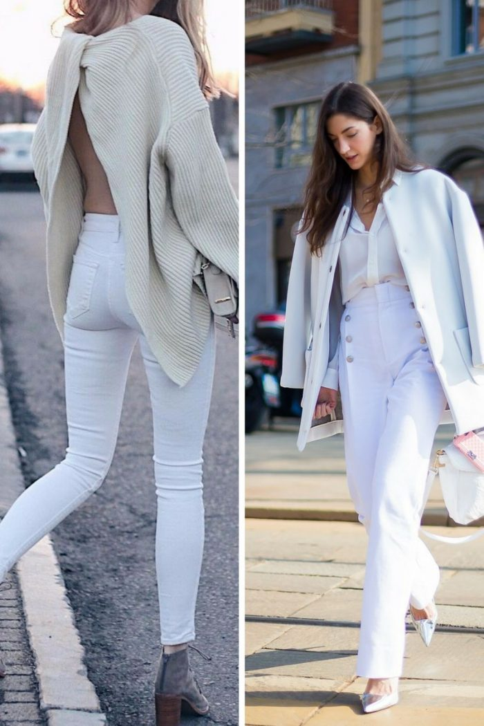 White Jeans For Summer Months 2020
