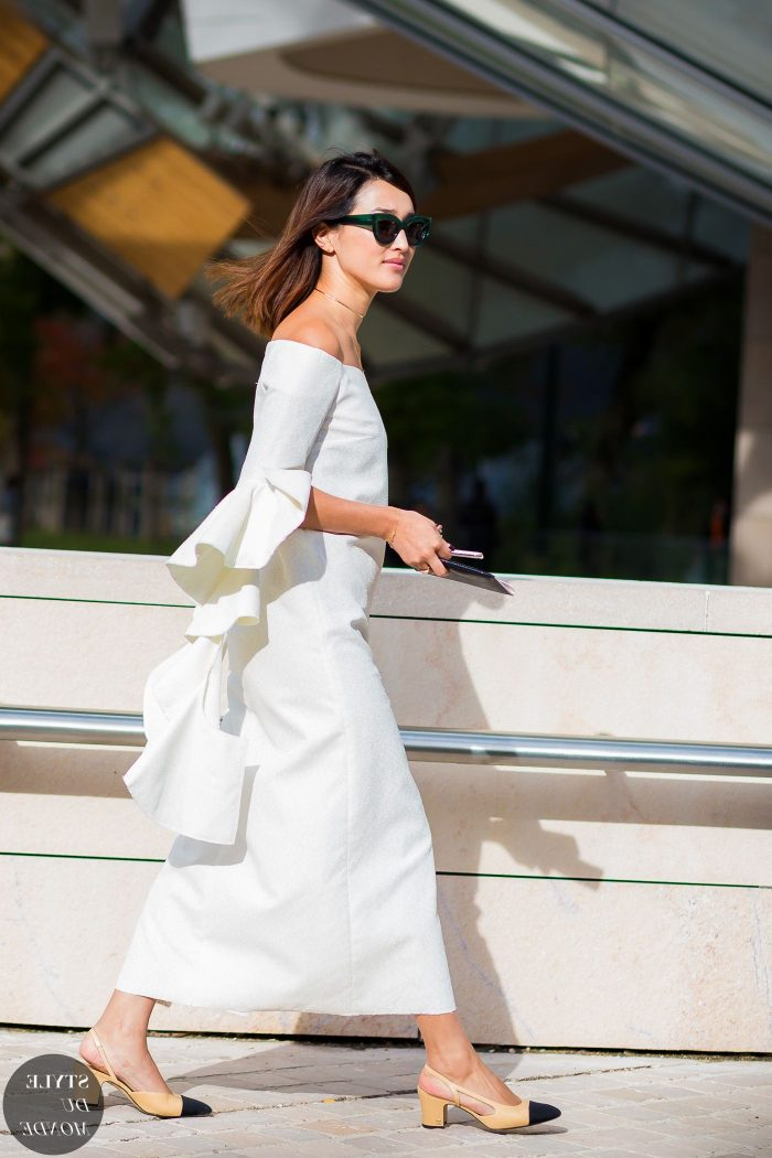 White On White Clothing Combinations For Women 2018 (15)
