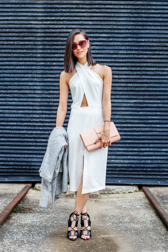 White On White Clothing Combinations For Women 2018 (16)