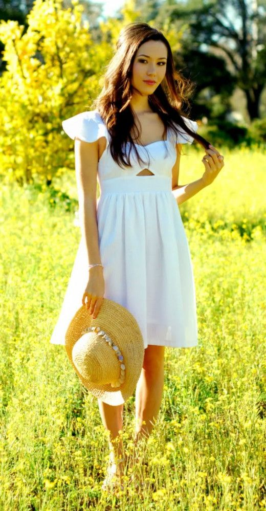 White On White Clothing Combinations For Women 2018 (2)
