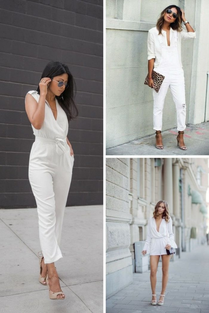 White On White Clothing Combinations For Women 2018 (25)