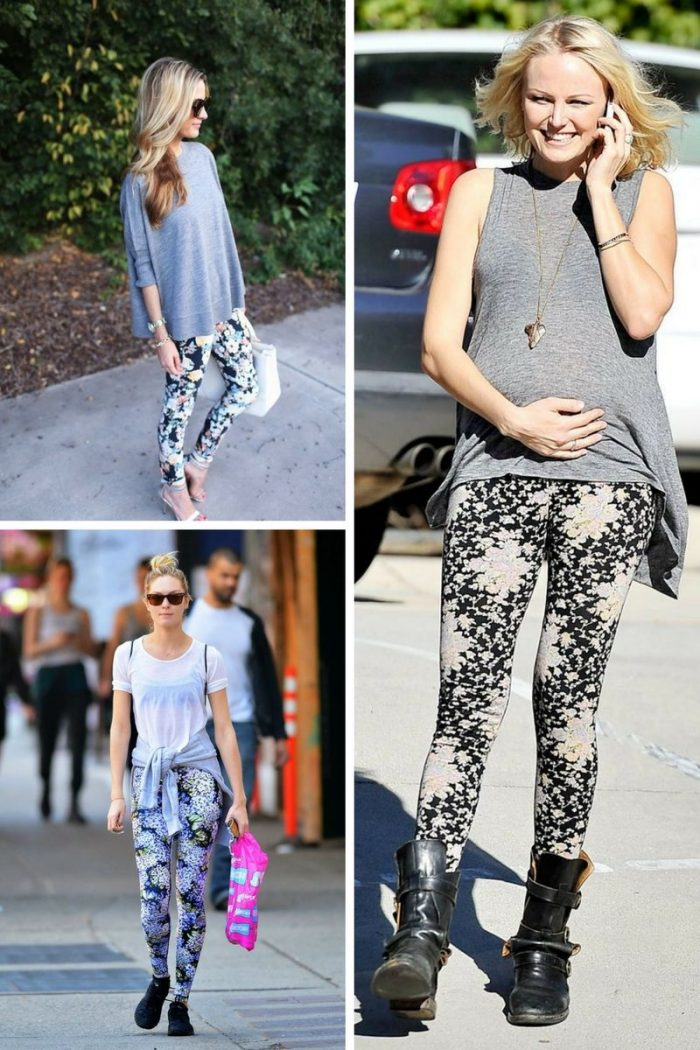 Floral Leggings For Women 2019