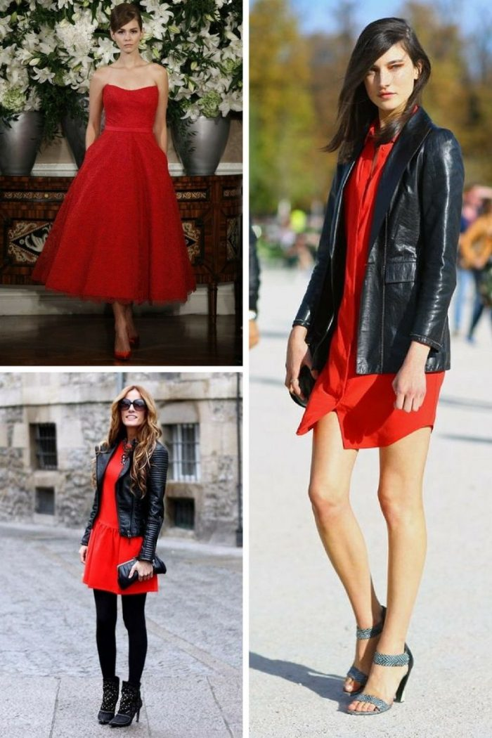 What Color Shoes To With Red Dresses 2019