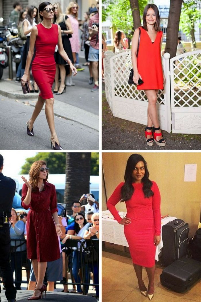 What Color Shoes To With Red Dresses 2020