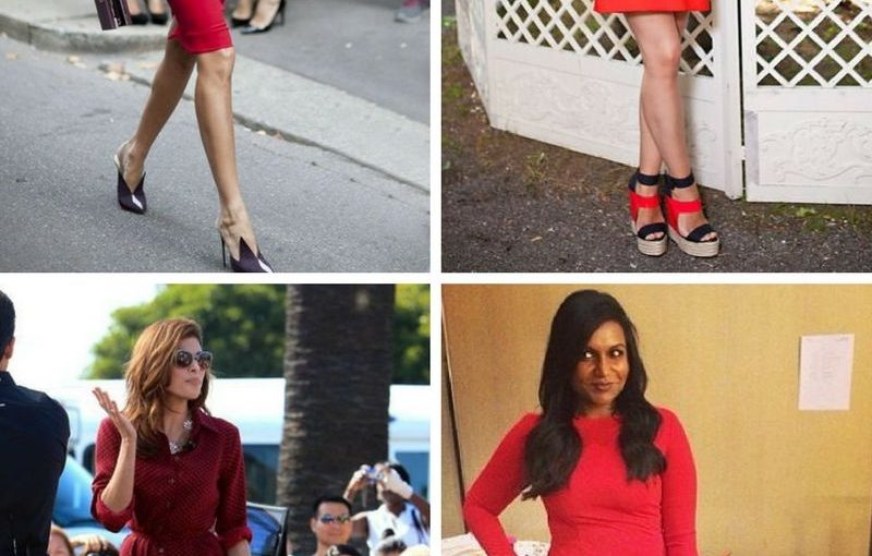 What Color Shoes To With Red Dresses