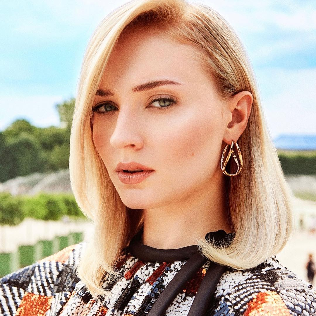 Sophie Turner As One Of Charlie's  Angel For Instyle Magazine 2019