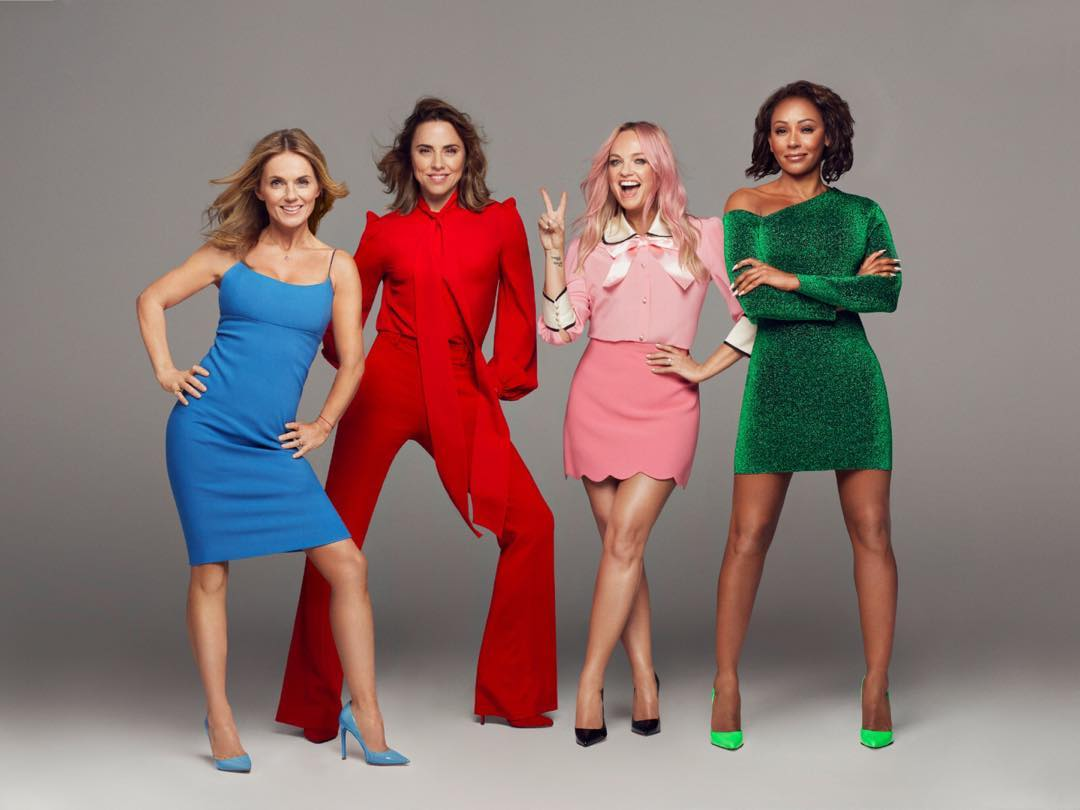 Spice Girls Reunite For Their Tour 2020
