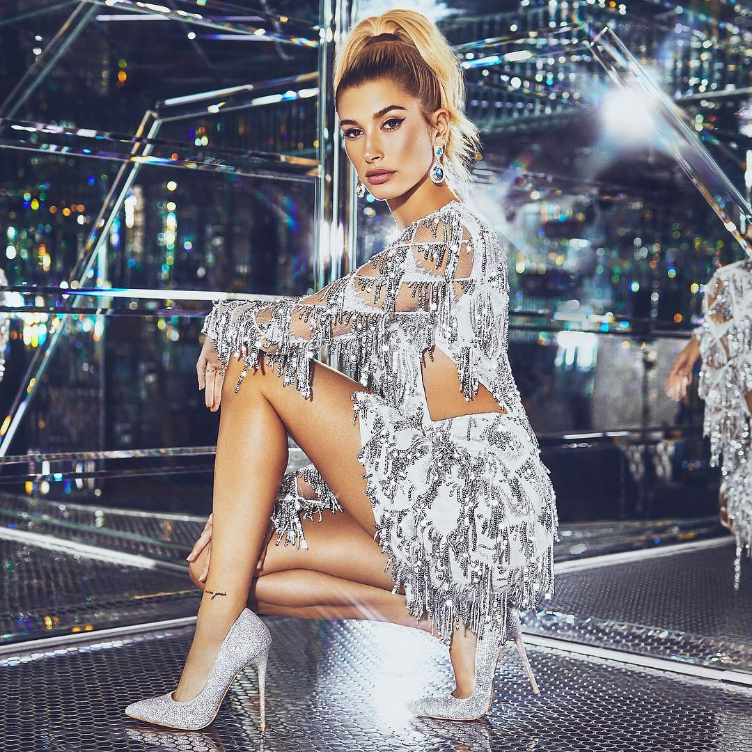 Hailey Rhode Bieber For PrettyLittleThing Holiday Campaign 2021