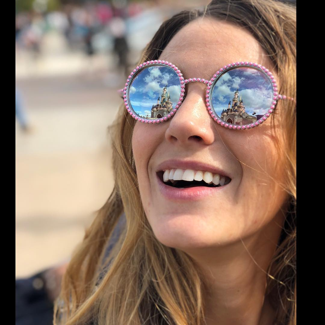 Blake Lively Wearing Hippie Vintage Chanel Sunglasses 2019