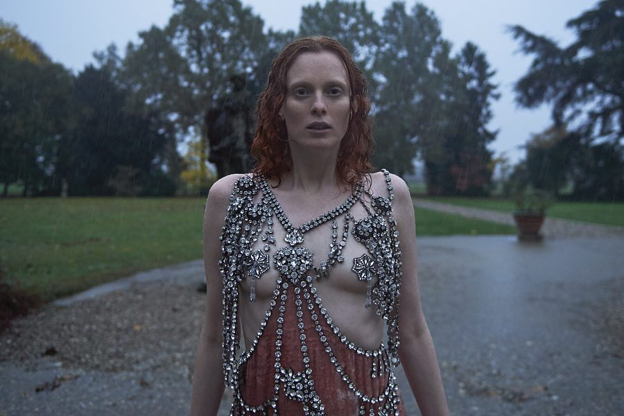 Redhead Karen Elson Wearing Provocative Gowns 2019