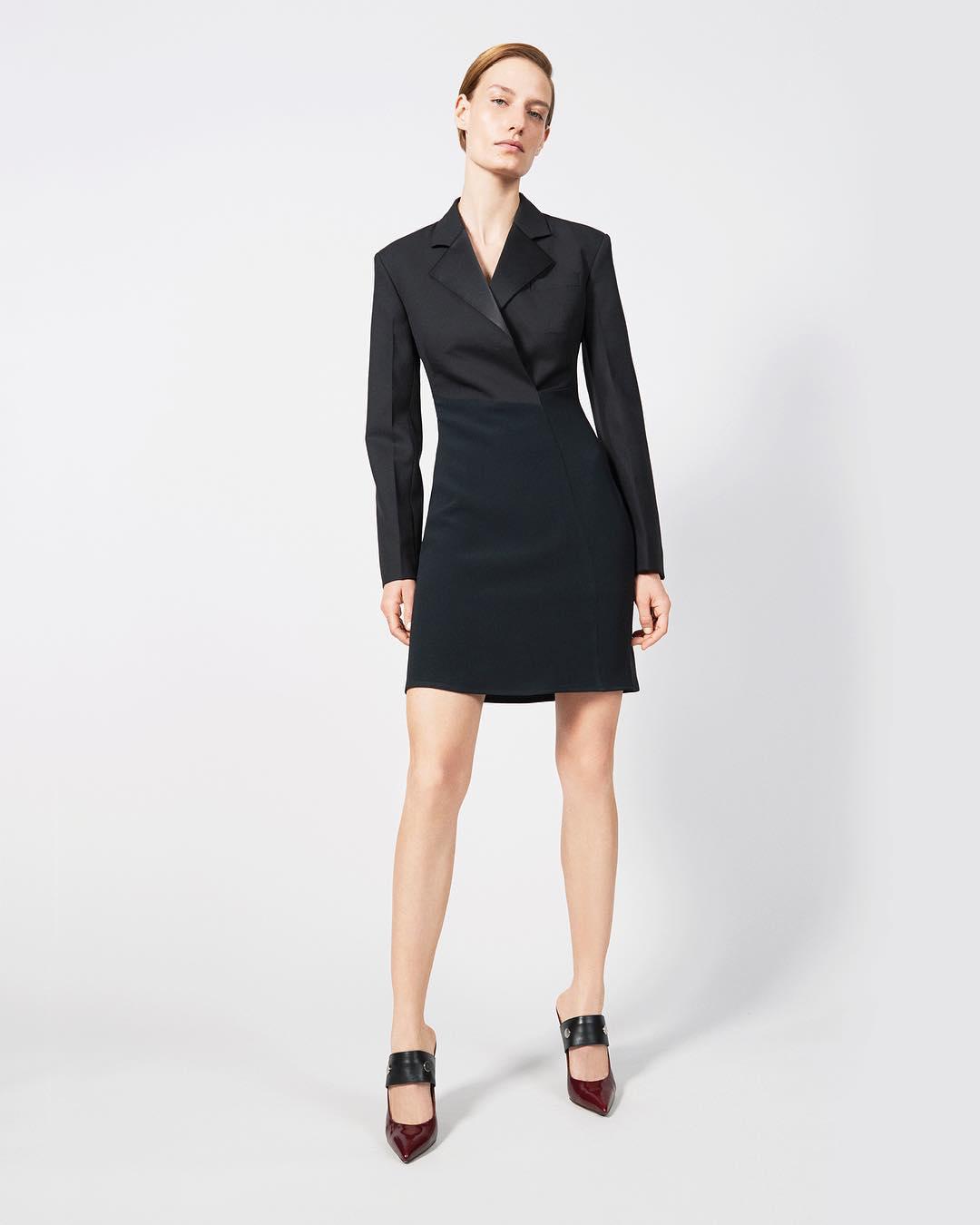 Tailored Tuxedo Dress by Victoria Beckham 2021
