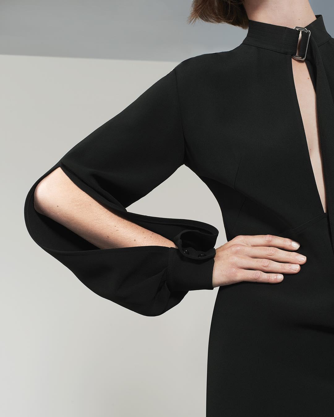 Bell Sleeve Midi Dress By Victoria Beckham 2021
