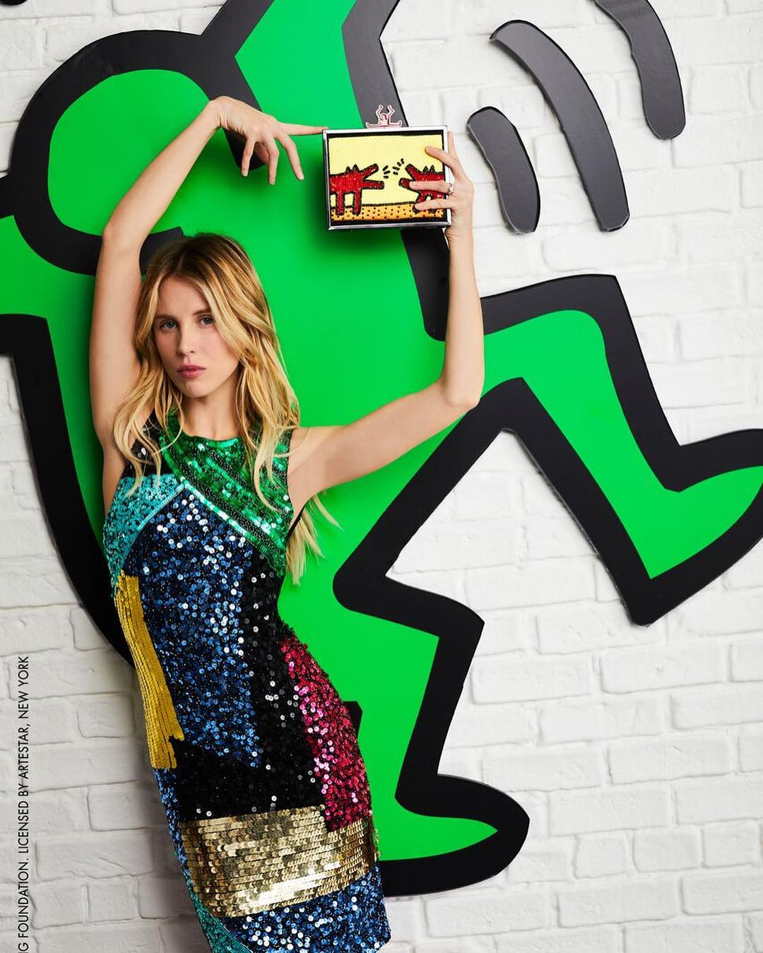 Boohoo Com X Paris Hilton New Collaboration: Barron Hilton And Tessa Hilton For Keith Haring X Alice