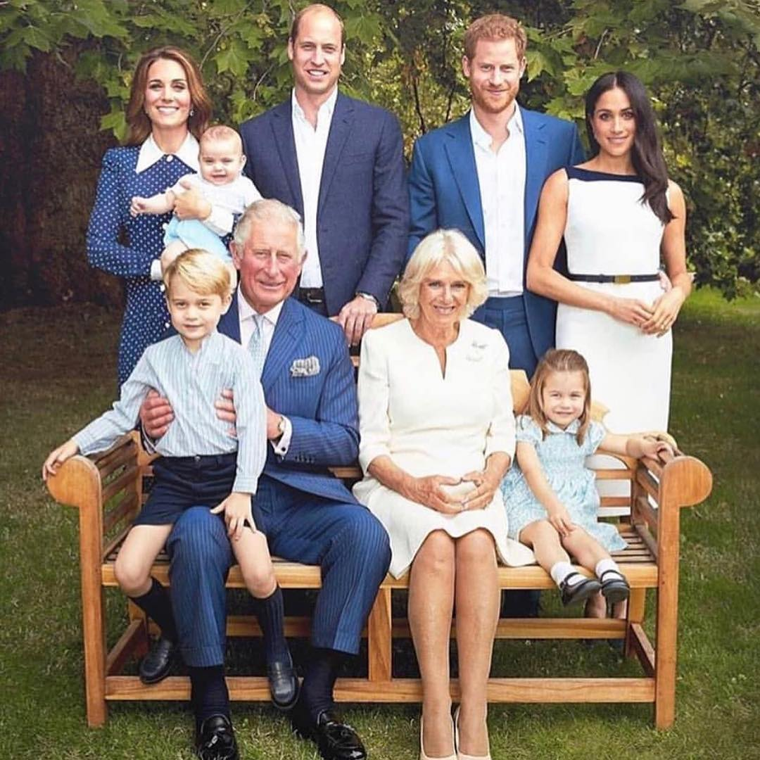 Meghan Markle And Royal Family Celebrate Prince Charles' 70th Birthday 2020