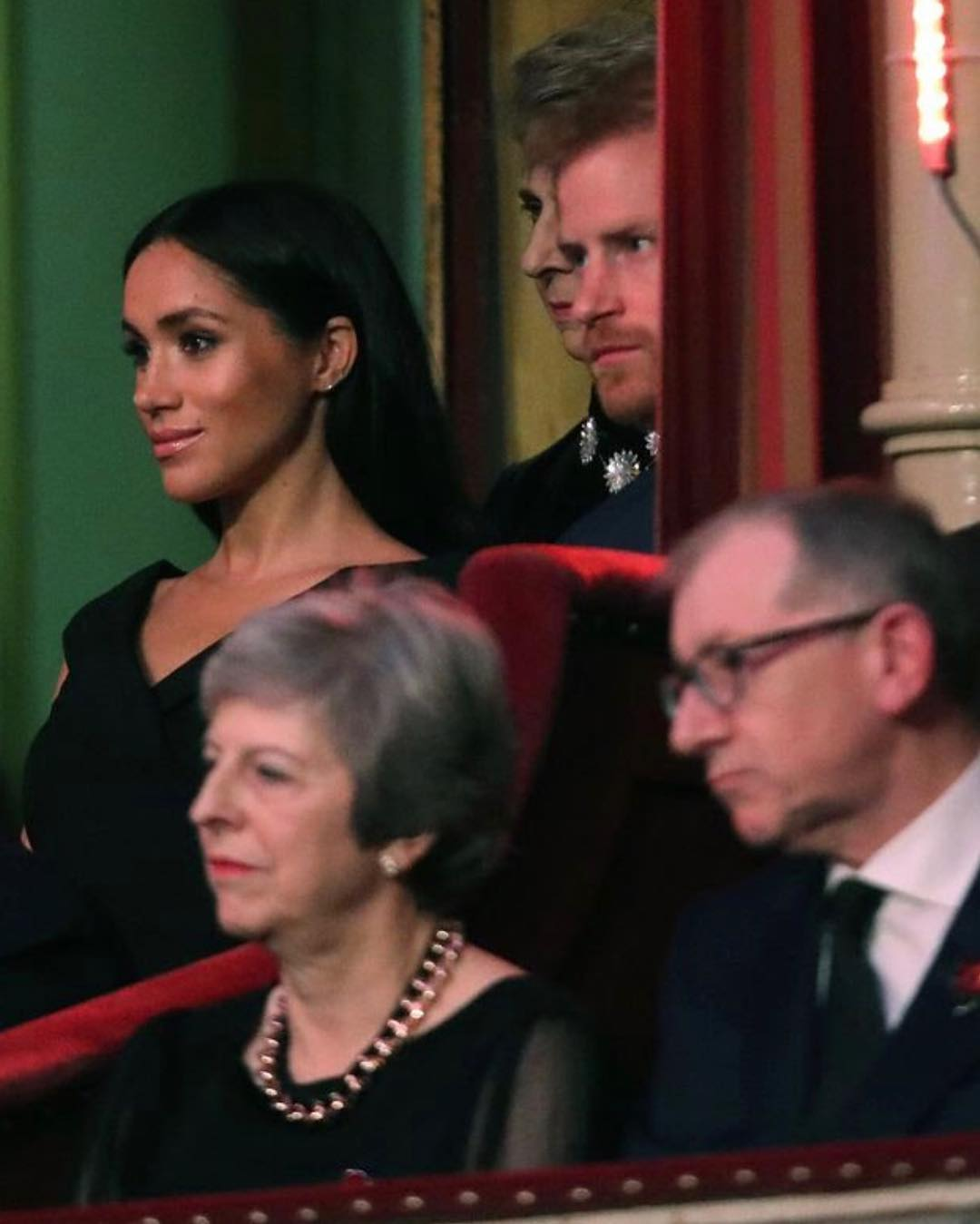 Meghan Markle At the Royal Festival of Remembrance 2019