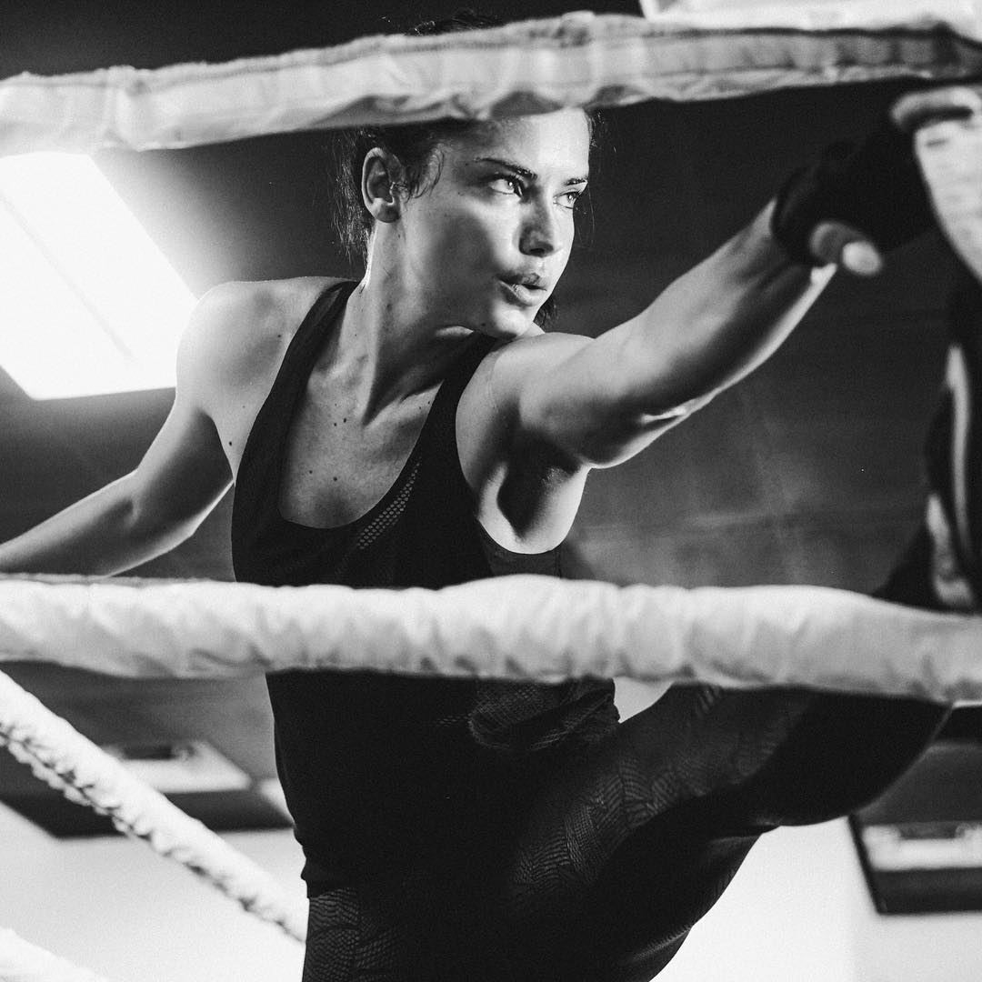 Activewear Worn By Adriana Lima 2019