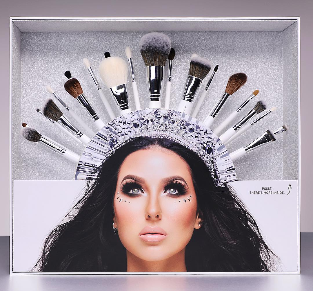 Jaclyn Hill Poses With A Brushes Crown 2019