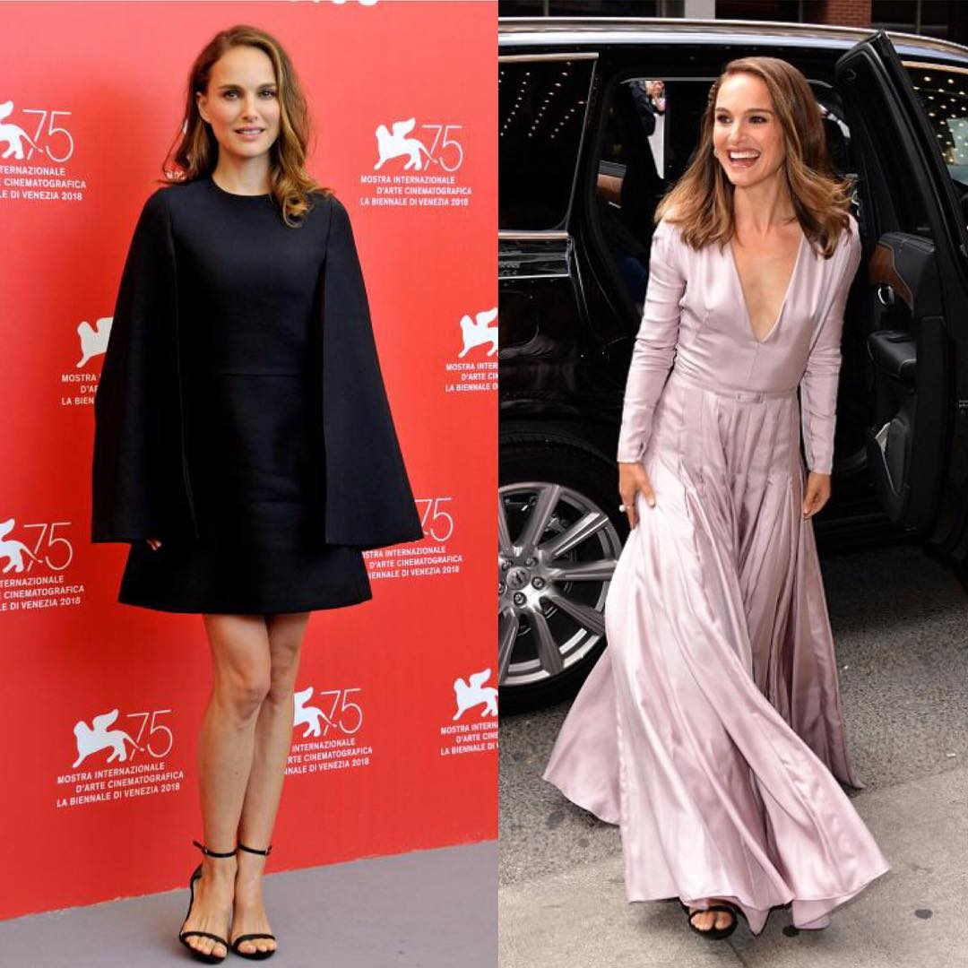 Natalie Portman Wearing Dior Clothes 2019