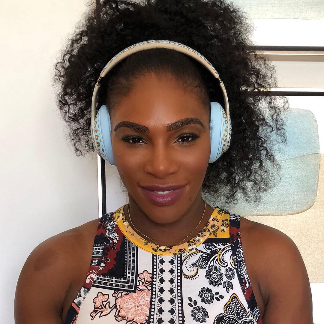 Serena Williams Promotes Beats By Dre Headphones Designer By Her 2019