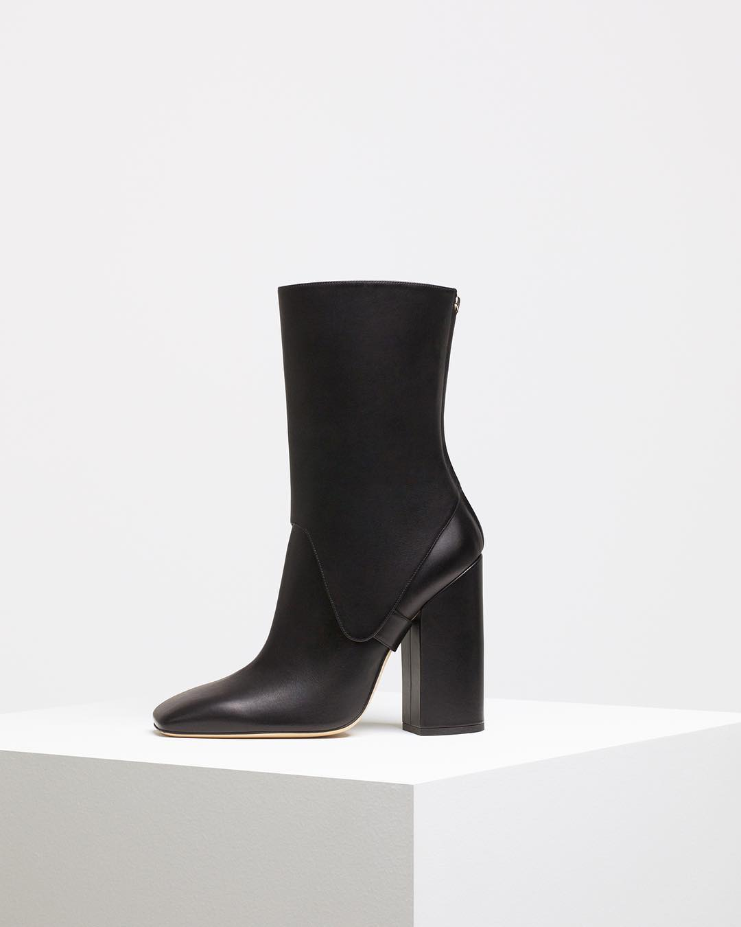 Victoria Beckham Square Toe Saddle Boots 2020