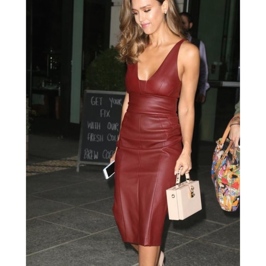 Jessica Alba In Narciso Rodriguez Outfits 2019