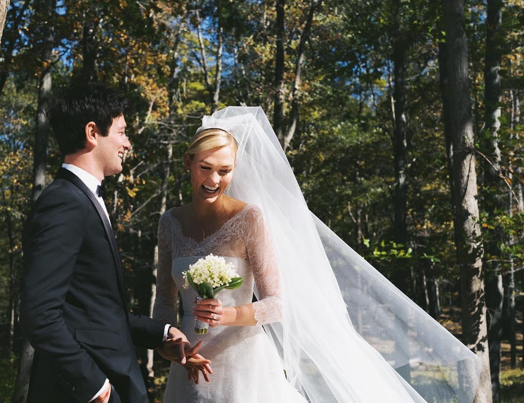 Karlie Kloss Wedding Photo 2019