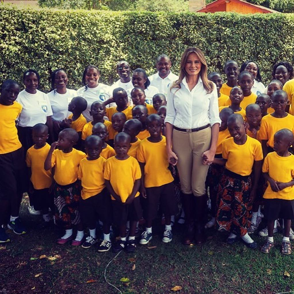 Equestrian Style Outfit Worn By First Lady Melania Trump 2021