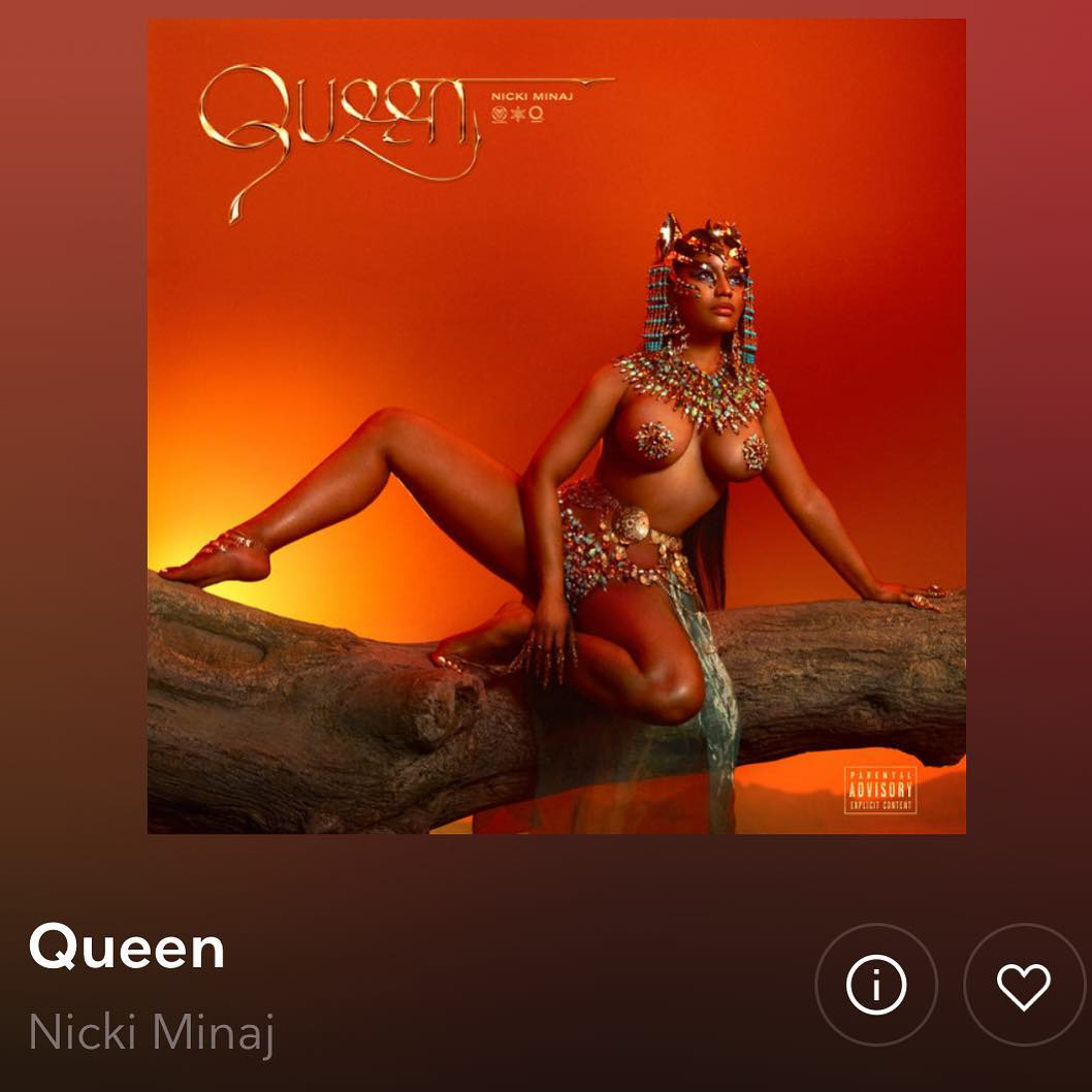 Nicki Minaj As Egyptian Cat Queen 2021