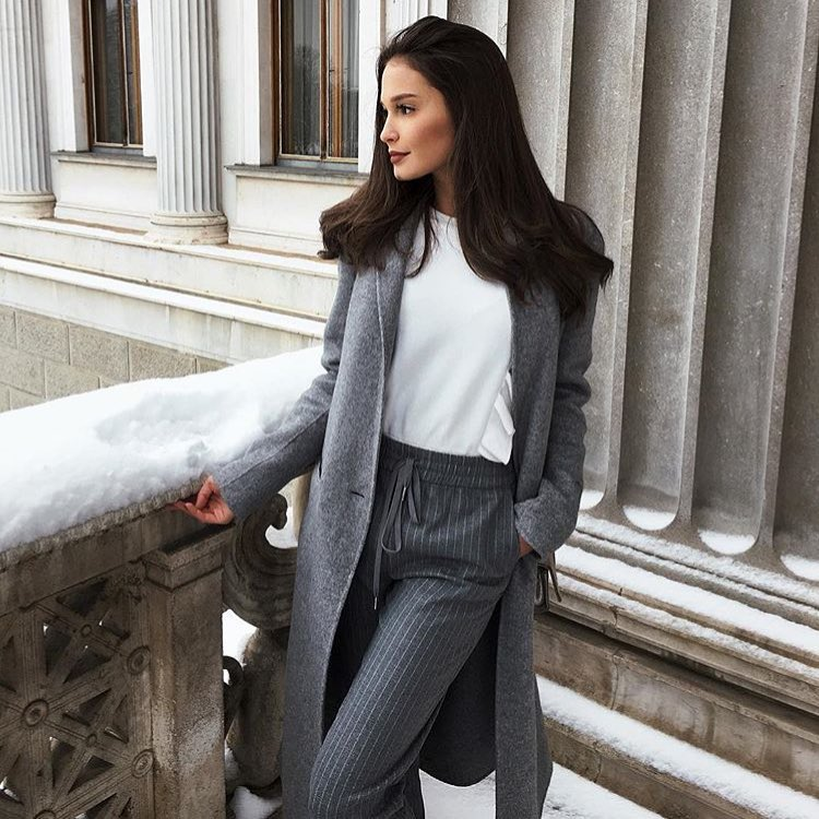 How To Style Wool Coat In Grey 2019